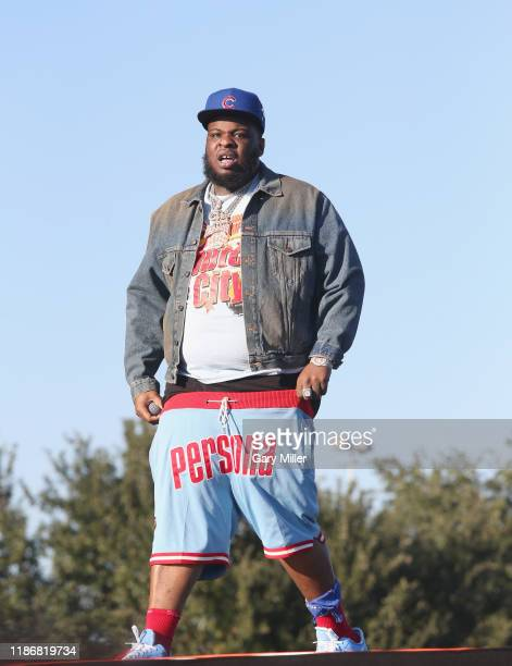Maxo Kream performs in concert during the second annual Astroworld Festival at NRG Park on November 9 2019 in Houston Texas