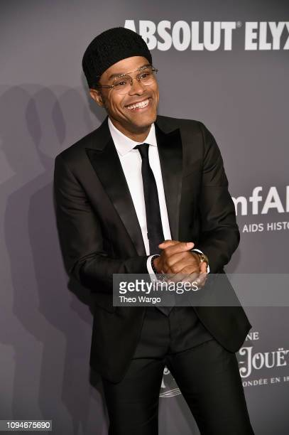 Maxwell attends the amfAR New York Gala 2019 at Cipriani Wall Street on February 6 2019 in New York City