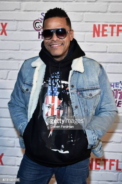 Maxwell attends the Netflix Original Series 'She's Gotta Have It' Premiere at Brooklyn Academy of Music on November 11 2017 in New York City