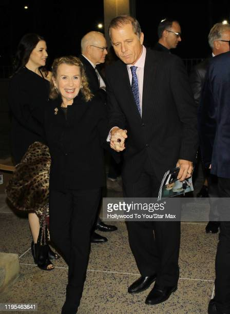 Maxwell Caufield and Juliet Mills are seen on January 23 2020 in Los Angeles