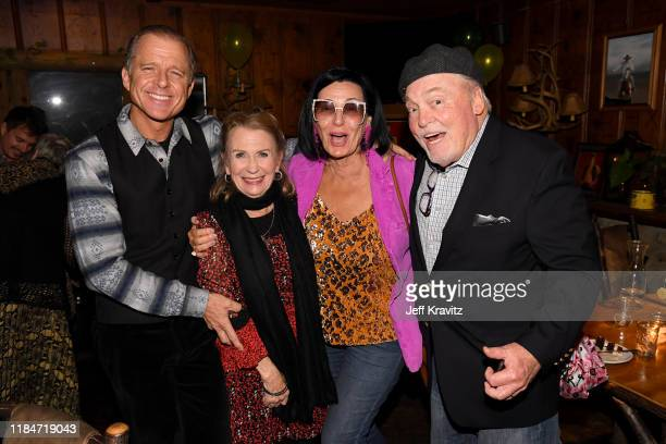 Maxwell Caufield Juliet Mills Malgosia Tomassi and Stacey Keach celebrate the 60th Birthday of Maxwell Caufield at the Deer Lodge on November 23 2019...