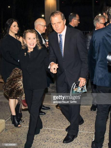 Maxwell Caulfield and Juliet Mills are seen on January 22 2020 in Los Angeles California