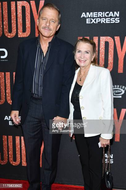 Maxwell Caulfield and Juliet Mills arrive at the LA Premiere Of Roadside Attraction's Judy at Samuel Goldwyn Theater on September 19 2019 in Beverly...