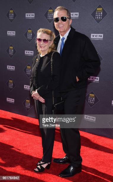 Maxwell Caulfield and Juliet Mills attend the 2018 TCM Classic Film Festival Opening Night Gala 50th Anniversary World Premiere Restoration of 'The...