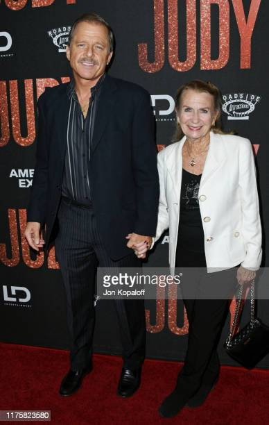 Maxwell Caulfield and Juliet Mills attend the LA Premiere Of Roadside Attraction's Judy at Samuel Goldwyn Theater on September 19 2019 in Beverly...