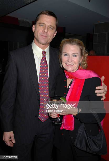 Maxwell Caulfield and wife Juliet Mills during Tryst New York City Opening Night Party with Maxwell Caulfield and Amelia Campbell at Compass...
