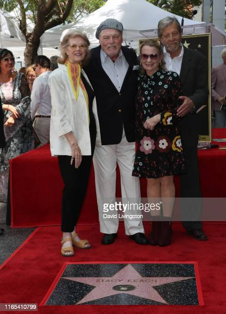 Maxwell Caulfield Stacy Keach Juliet Mills and guest attend Stacy Keach being honored with a Star on the Hollywood Walk of Fame on July 31 2019 in...