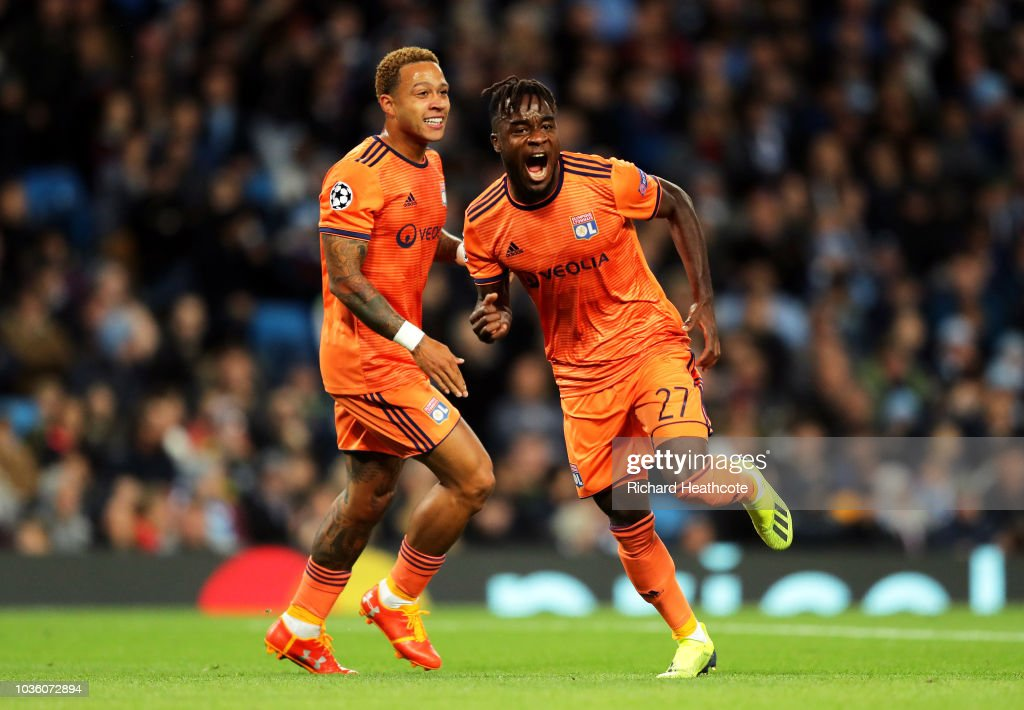 Manchester City v Olympique Lyonnais - UEFA Champions League Group F : News Photo