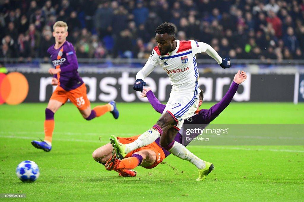 FRA: Olympique Lyonnais v Manchester City - UEFA Champions League