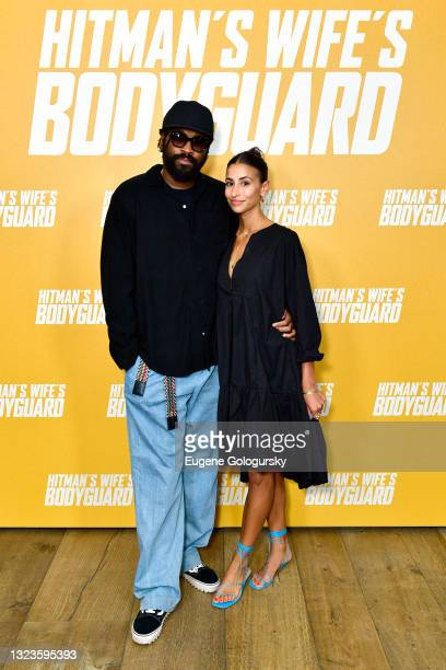 """Maxwell Osborne attends the """"Hitman's Wife's Bodyguard"""" special screening at Crosby Street Hotel on June 14, 2021 in New York City."""