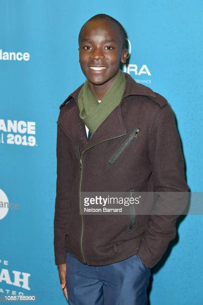 Maxwell Simba attends Salt Lake Opening Night Screening Of The Boy Who Harnessed The Wind Presented By Zions Bank during 2019 Sundance Film Festival...