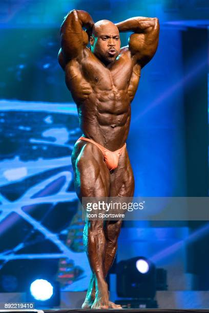 Maxx Charles competes in the Arnold Classic as part of the Arnold Sports Festival on March 4 at the Greater Columbus Convention Center in Columbus OH