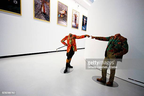 Maxxi Museum . A look on the backstage before the opening of the Maxxi Museum. A Foundation established by the Ministry of National Heritage and...
