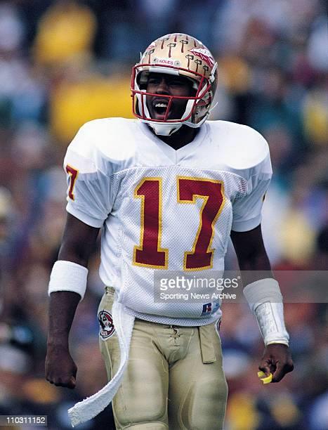 May 02 1993 Georgia Georgia USA CHARLIE WARD Florida State Quarterback in 1993 against Notre Dame