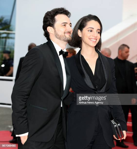 CANNES May 10 2018 Director A B Shawky attends the screening of the film 'Yomeddine' during the 71st Cannes Film Festival at Palais des Festivals on...
