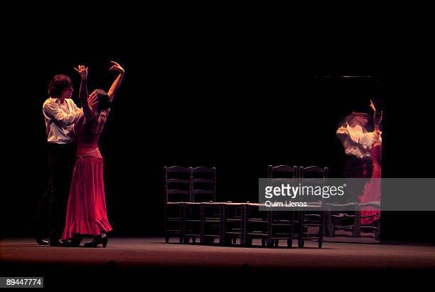 May 13 2008 Albeniz Theatre Madrid Spain Dress rehearsal of the ballet 'Carmen' with the choreography of Antonio Gades