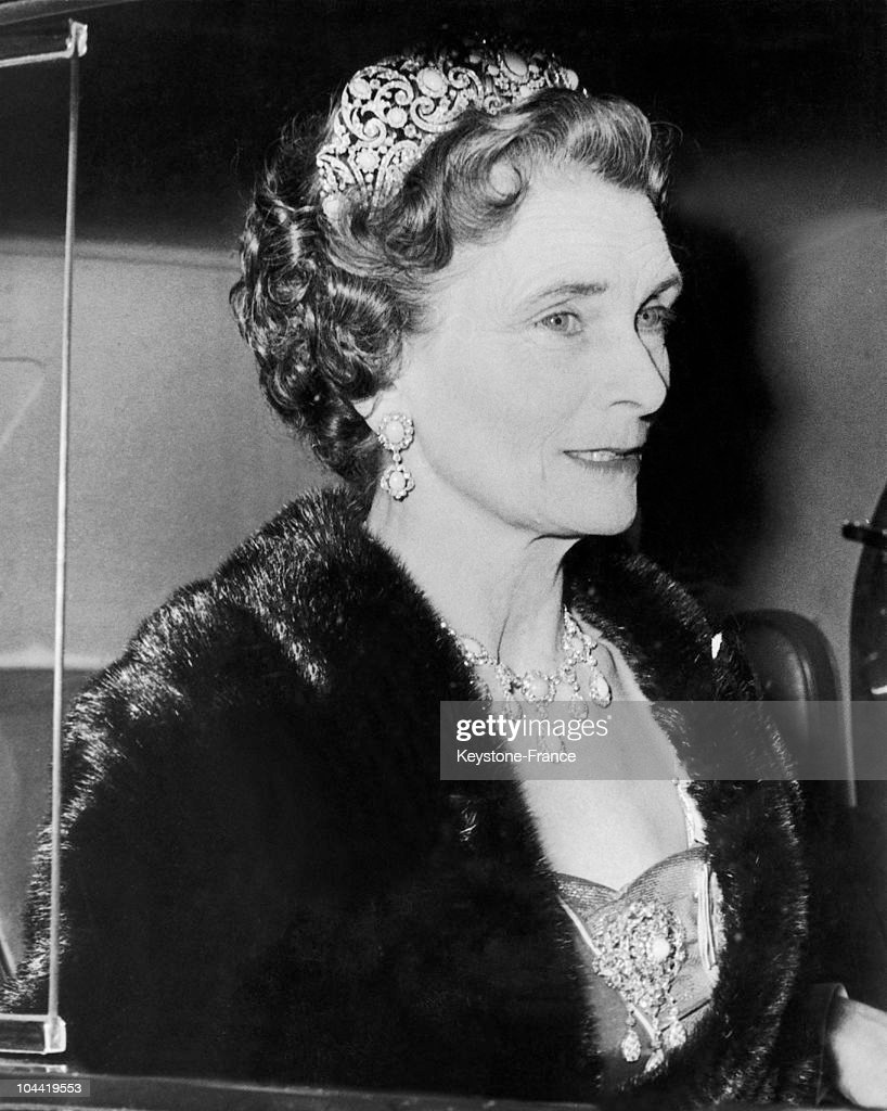 Alice, Duchess Of Gloucester In 1963 : News Photo