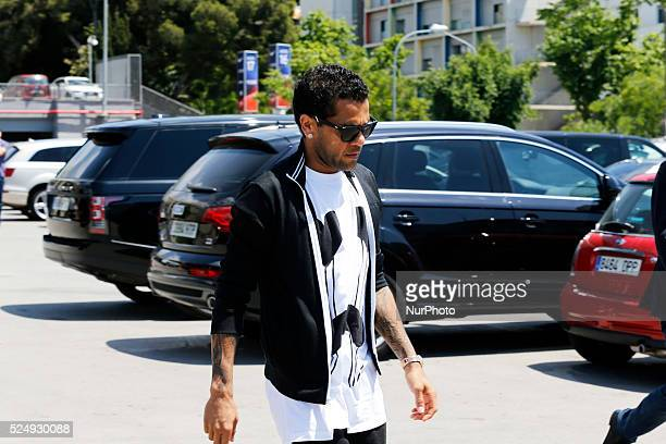 Dani Alves in the Carles Puyol farewell ceremonyl held in the Auditorium 1899 of the FCB the May 15 2014 Photo Joan Valls/Urbanandsport/Nurphoto