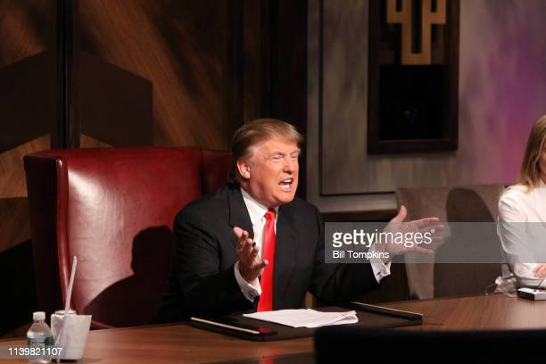 May 16 2010 ]: Donald Trump during the filming of the live final tv episode of The Celebrity Apprentice on May 16 2010 in New York City.