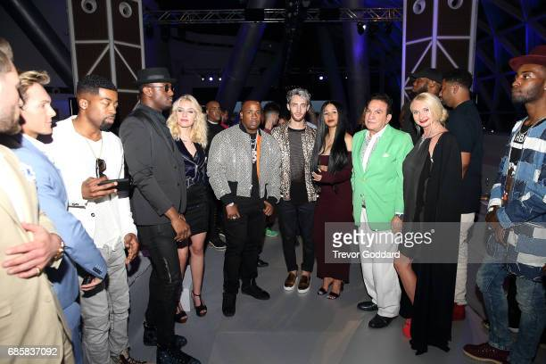 Yo Gotti and Cardi B attends Designer Laquan Smith's show at Arab Fashion Week Ready Couture Resort 2018 on May 172017 at Meydan in Dubai United Arab...