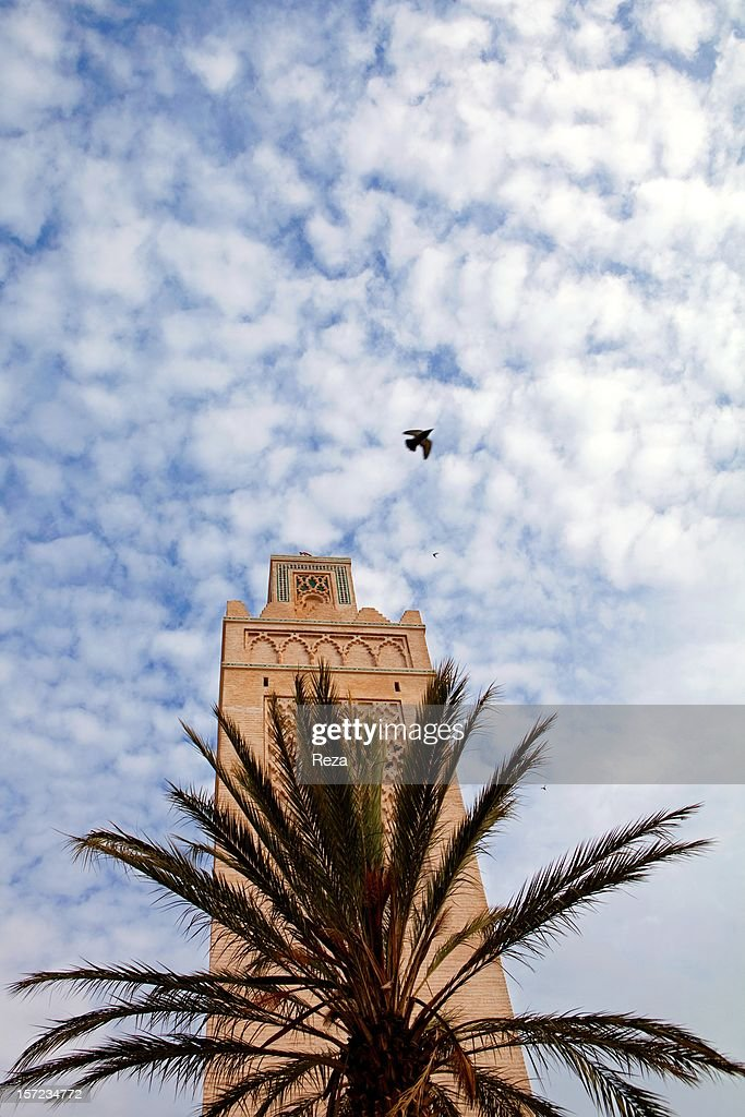 May 17th, 2011, Algeria. The minaret of the great Mosque of Tlemcen.