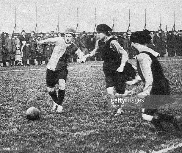 May 18th 1919 The first women's football teams in England