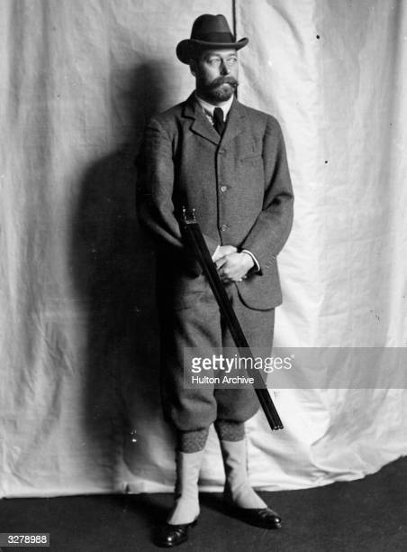 George V who succeeded his father as King in 1910 Viewed when still the Prince of Wales