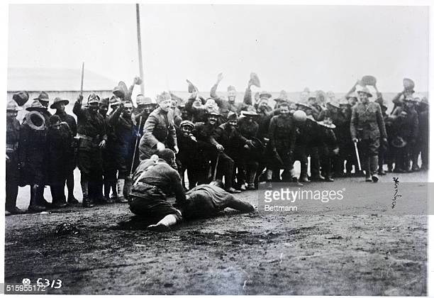 May 1918FranceThe 15th Colored Infantry indulges in some sports