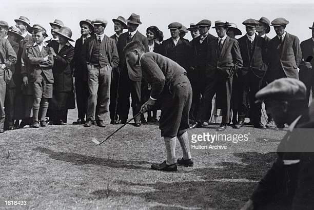 Young American golfer Bobby Jones at the British Amateur championships at Hoylake Mandatory Credit Allsport Hulton/Archive