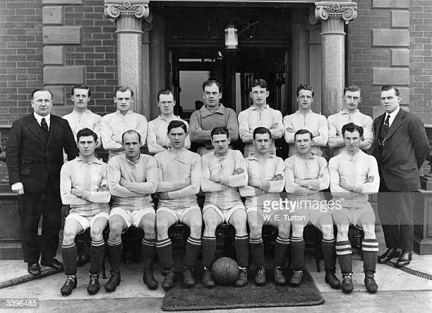 Huddersfield Town Football Club who won the 1922 FA Cup Final against Preston North End Herbert Chapman Wood McKay Slade Mutch Wilson Watson...