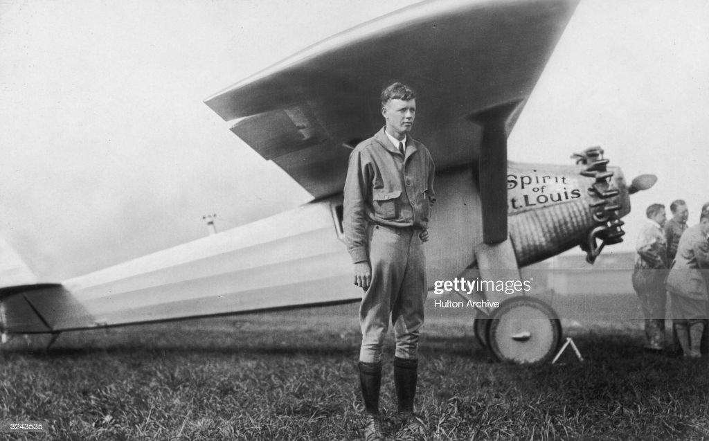 Charles Lindbergh : News Photo