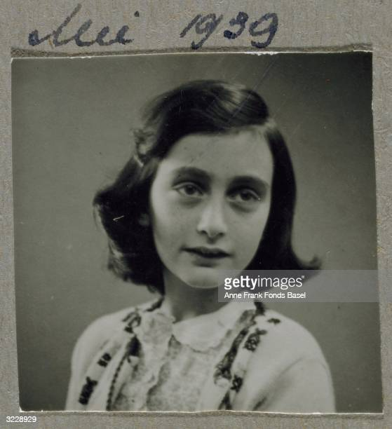 EXCLUSIVE A portrait of Anne Frank From Anne Frank's photo album