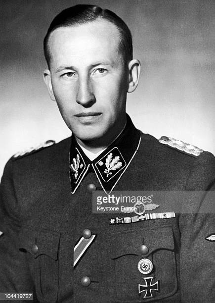 May 1942 Portrait Of Reinhard Heydrich SsObergruppenfuhrer General Of Hitler'S Police And Reichsprotektor In Bohemia And Moravia