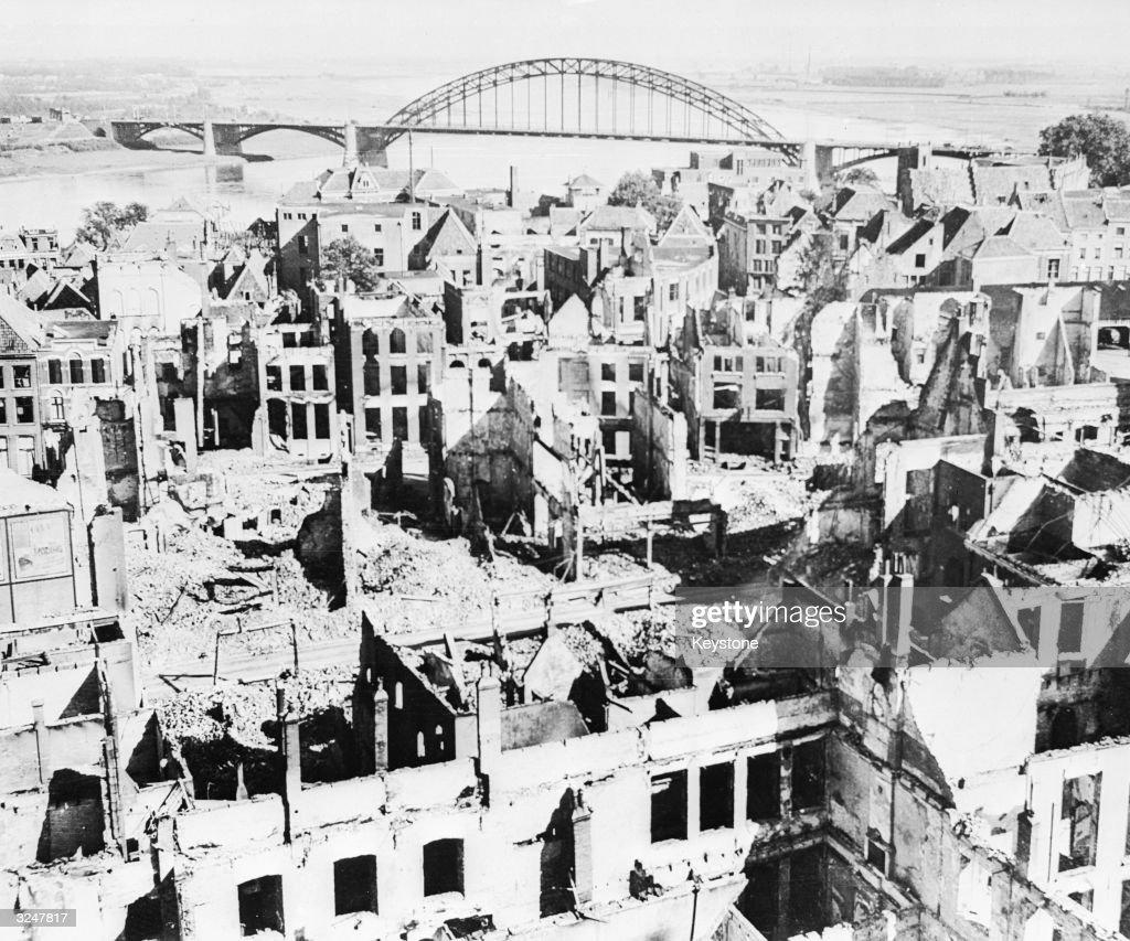 Ruined Nijmegen : News Photo