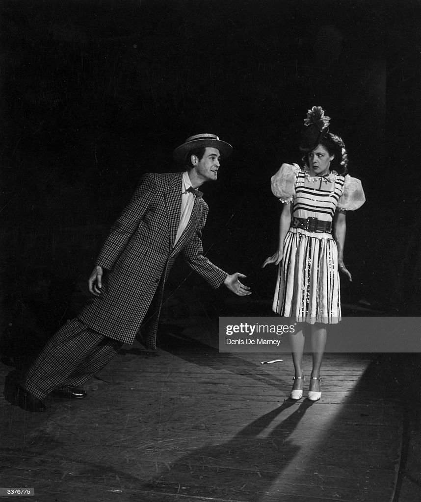 Beryl Kaye in 'The Night and the Music', a revue by Robert Nesbitt and Joan Davis which opened at the London Coliseum on the 17th May 1945.
