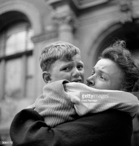 A German boy evacuated from Berlin by the British Army after World War II is reunited with his mother at the Cicilian School in Wilmersdorf...