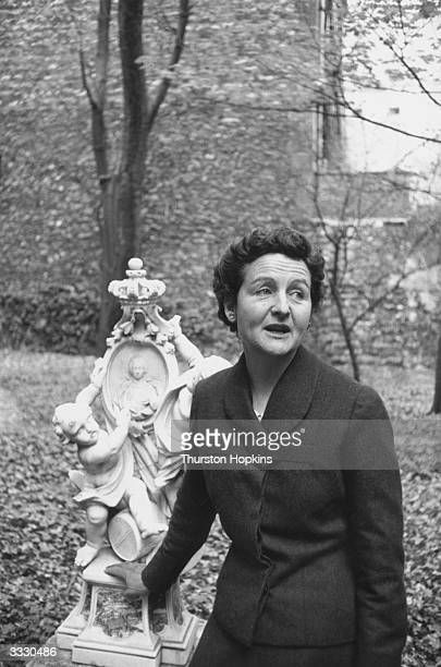 Novelist Nancy Mitford , writer of satirical novels, biographies and pieces on the English social classes, in which she formulated the categories 'U'...