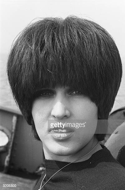 Pop singer Julie Driscoll of the group 'Steampacket' at the launch party of Swinging Radio England a pirate radio station based on a ship anchored...