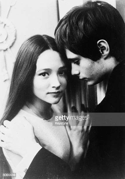 British actress Olivia Hussey and actor Leonard Whiting star in Franco Zeffirelli's 'Romeo and Juliet'