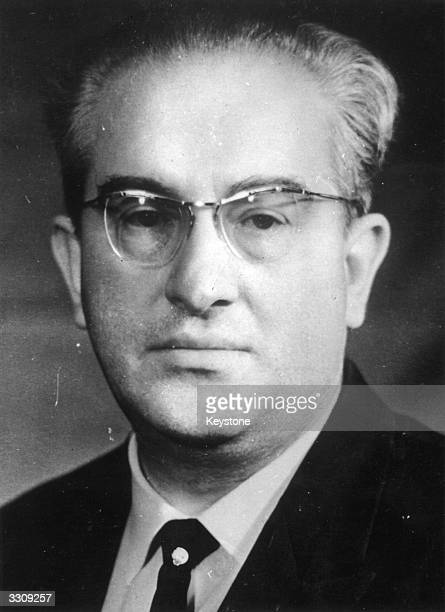 Yuri Vladimirovich Andropov head of Soviet Secret Police and briefly leader of the Soviet Union