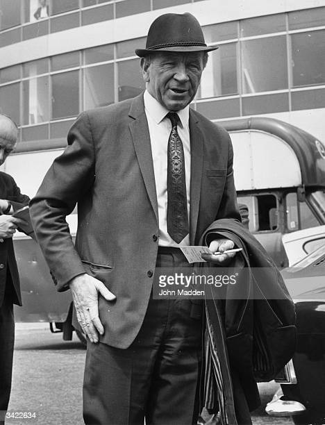 British football manager Sir Matt Busby