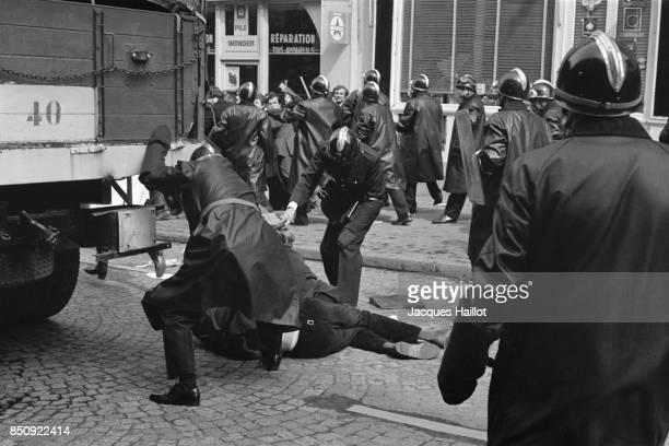 May 1968 Riots in Paris