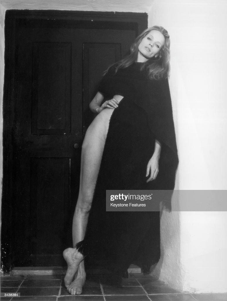 German model Vera von Lehndorff, who is to star in the movie 'Veruschka - Poesia di una Donna', directed by her fiance Franco Rubartelli.