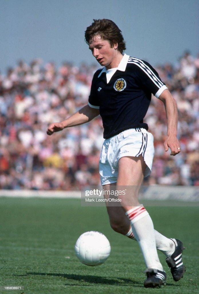Willie Donachie - Scottish Footballer 1977 : News Photo