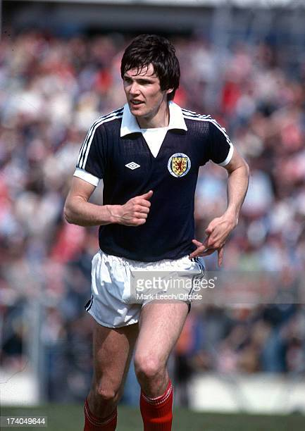 19 May 1979 Home Internation football Wales v Scotland Scottish defender Alan Hansen
