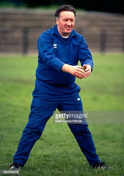 25 May 1979 Scotland Football TrainingScotland manager Jock Stein