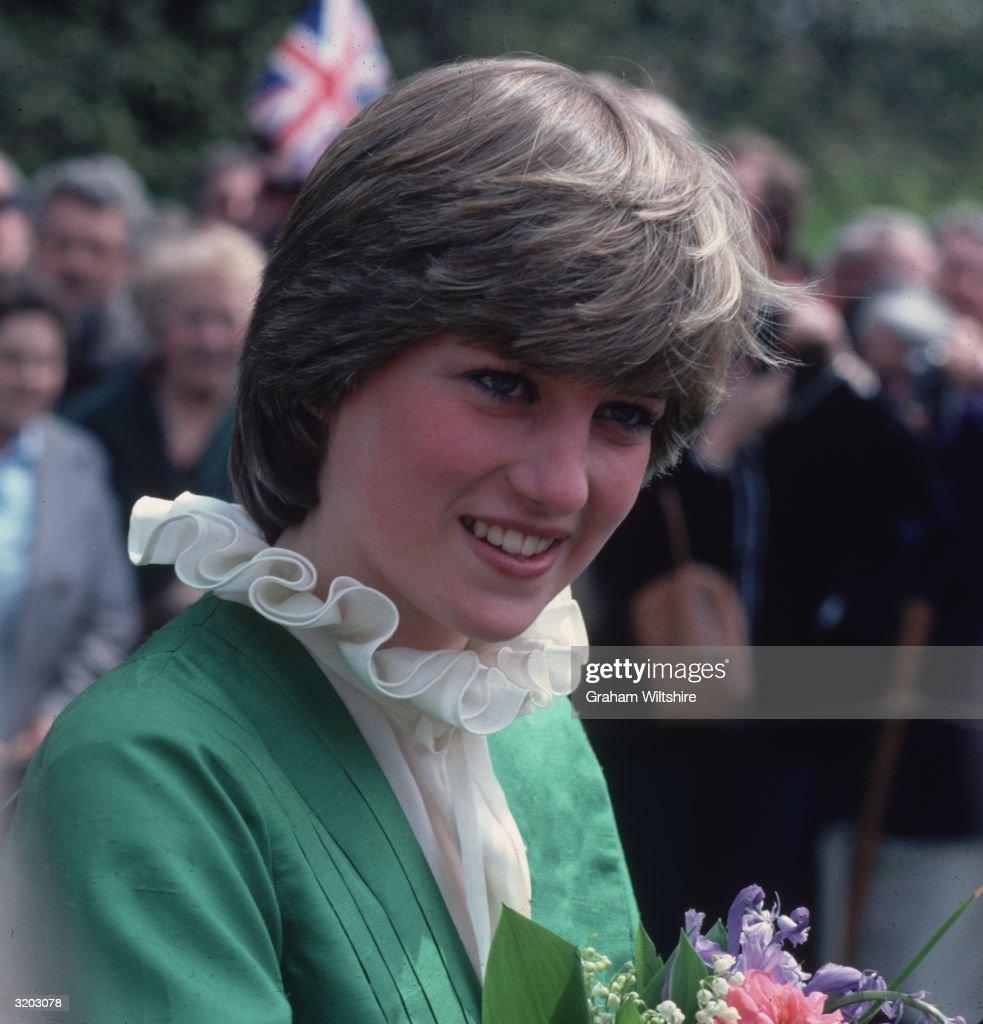 Lady Diana Spencer : News Photo