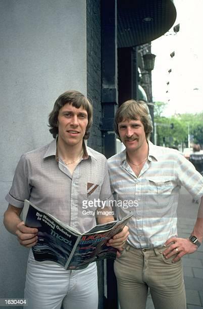Portrait of Arnold Murren and Franz Thijssen of Ipswich Town Mandatory Credit Allsport UK /Allsport