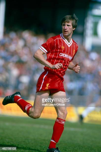 May 1984 - English Football League Division One - Notts County v Liverpool - Ronnie Whelan of Liverpool.