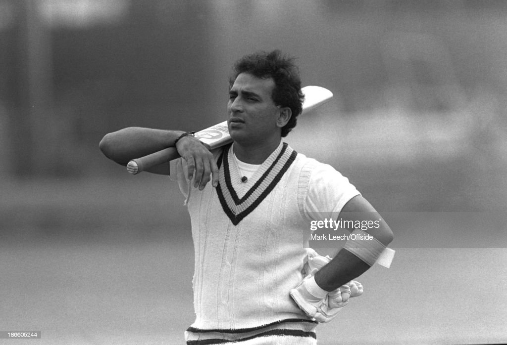 Indian Cricket Team at Lords Net 1986 : News Photo
